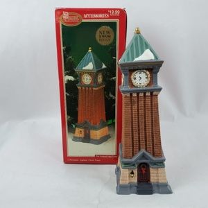 Dickens Collectables Lighted Clock Tower